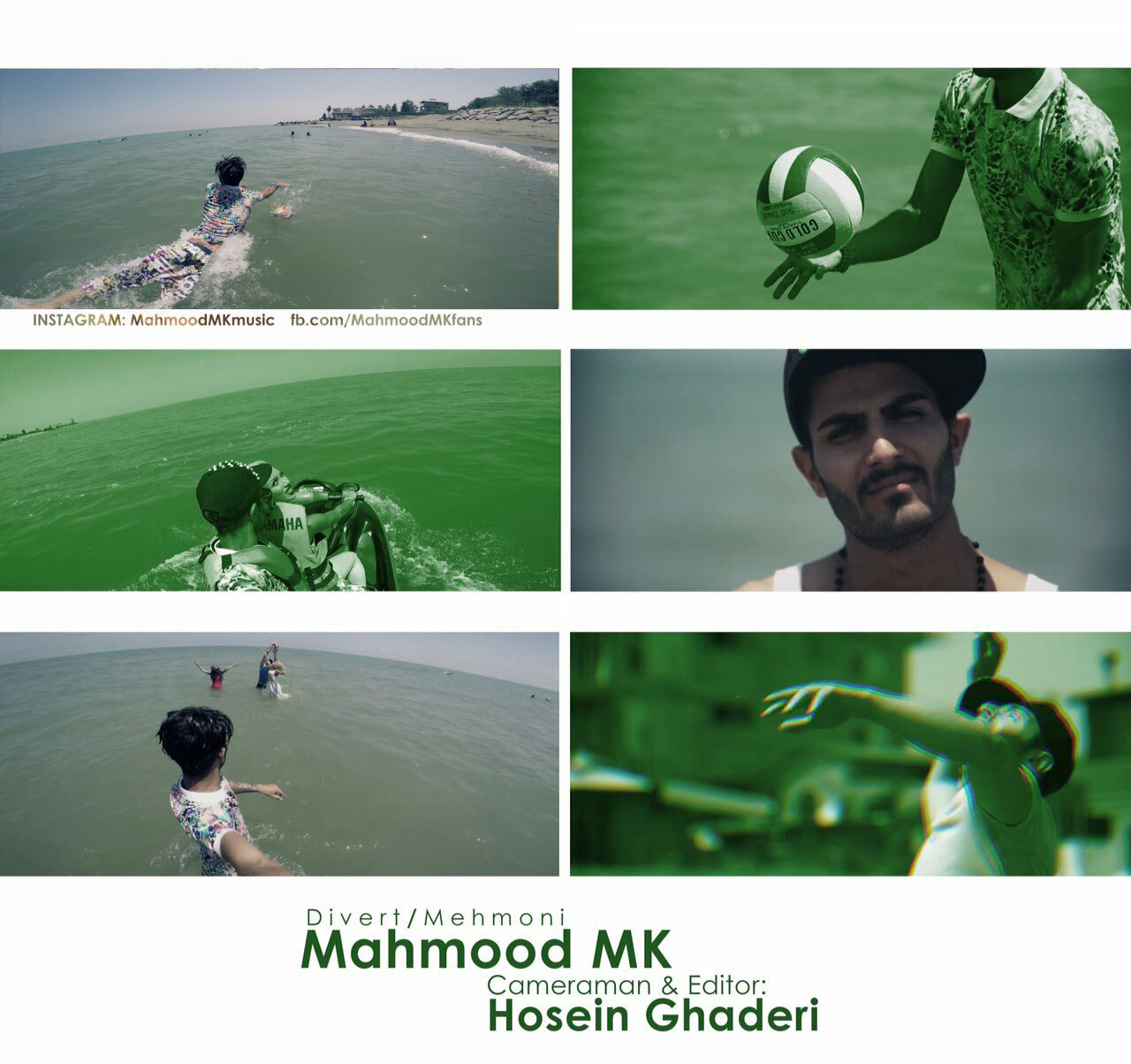 Mahmood Mk – Divert (Video)